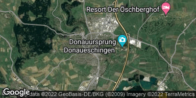 Google Map of Donaueschingen