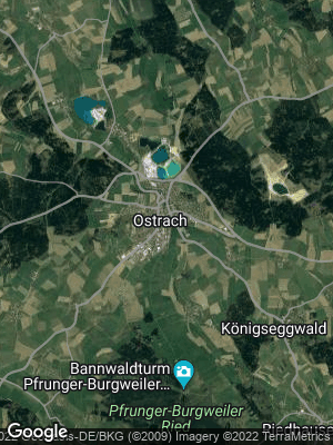 Google Map of Ostrach