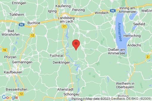 Karte Vilgertshofen
