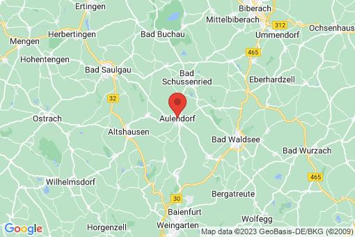 Karte Aulendorf