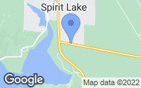 Map of Spirit Lake, ID