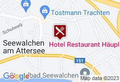 Hotel Häupl - Karte