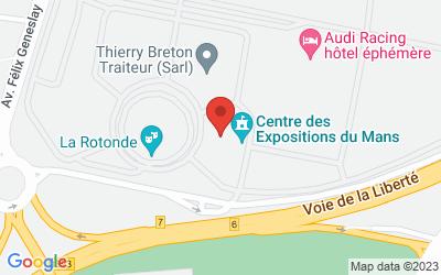 Centre des expositions du Mans 1, avenue du Parc des Expositions72058 Le Mans cedex 2