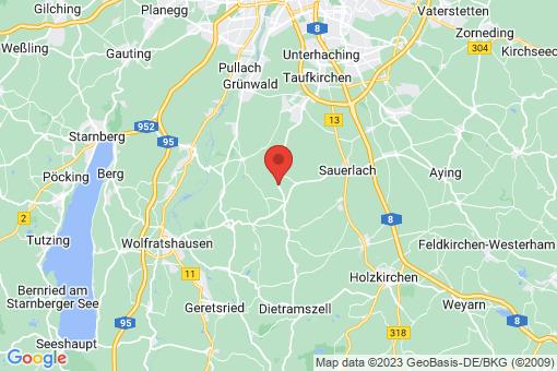 Karte Sauerlach