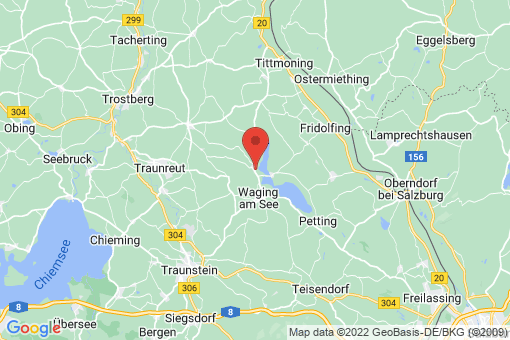Karte Taching am See