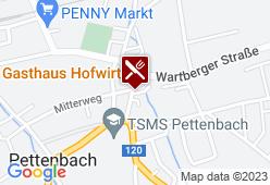 Gasthaus Hofwirt - Karte