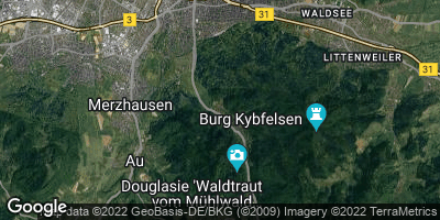 Google Map of Günterstal