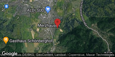 Google Map of Merzhausen