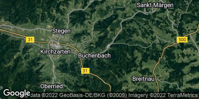 Google Map of Buchenbach