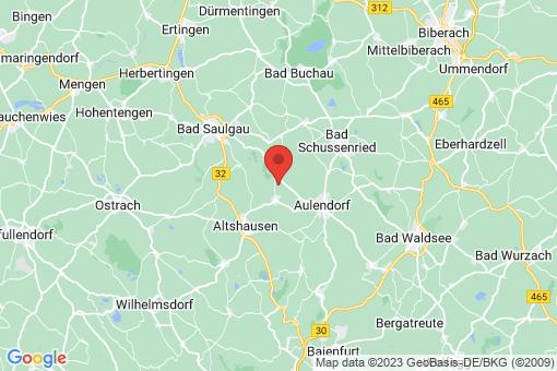 Karte Ebersbach-Musbach