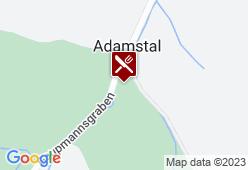 Landgasthaus Adamstal - Karte