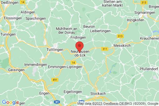 Karte Neuhausen ob Eck