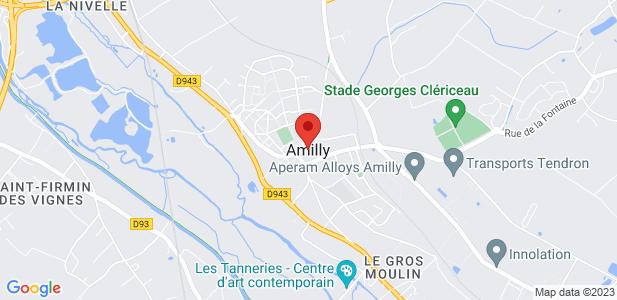 Terrain industriel à vendre - 22,34 ha à Amilly, proche Montargis (45)