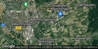 Google Map of Memmingerberg