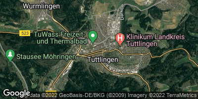 Google Map of Tuttlingen