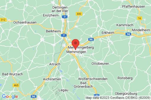 Karte Memmingen