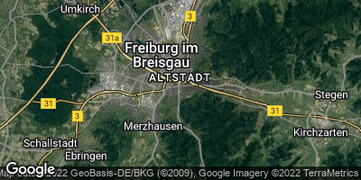 Google Map of Wiehre