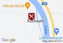 Waldesruh-Kohlwehr - Karte