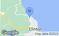 Map of Clinton, WA