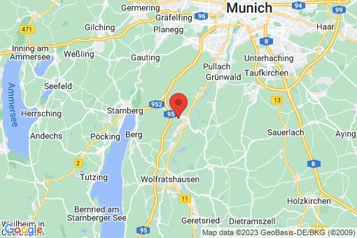 Karte Kloster Schäftlarn