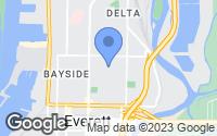 Map of Everett, WA