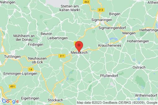 Karte Meßkirch