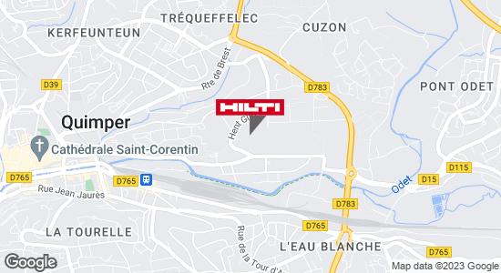 Hilti Store chez Point P - Quimper