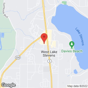Map of Taco Bell at 303 91st Ave NE, Lake Stevens, WA 98258