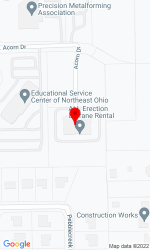 Google Map of All Erection and Crane Rental 4700 Acorn Drive, Independence, OH, 44131