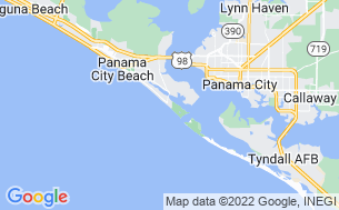 Map of Panama City Beach RV Resort