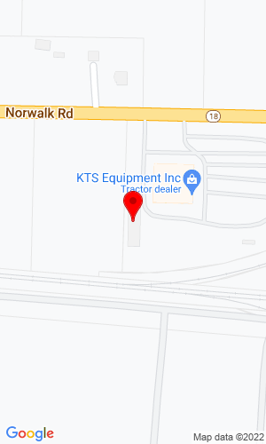 Google Map of Krystowski Tractor Sales 47117 State Route 18, Wellington, OH, 44090