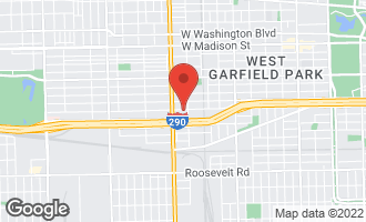Map of 4717 West Harrison Street CHICAGO, IL 60644