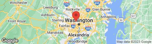 Map of 4721 TILDEN STREET NW WASHINGTON, DC 20016