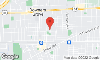 Map of 4730 Elm Street DOWNERS GROVE, IL 60515