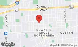 Map of 4731 Saratoga Avenue DOWNERS GROVE, IL 60515