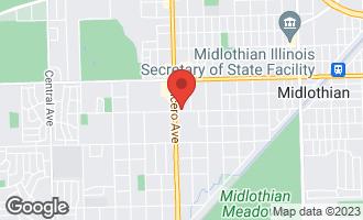 Map of 4734 149 Street MIDLOTHIAN, IL 60445