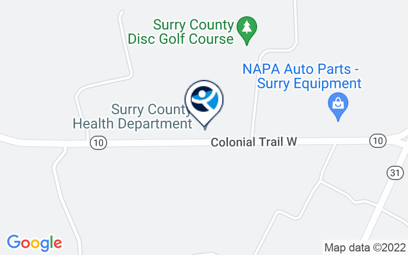 District 19 MH/MR Subst Abuse Services Surry Counseling Service Location and Directions