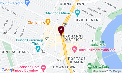 map of ANTIQUES AND FUNK