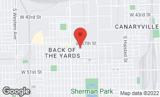 Map of 4744 South Bishop Street CHICAGO, IL 60609