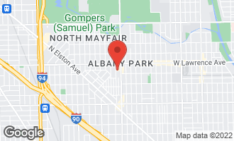 Map of 4749 North Keystone Avenue CHICAGO, IL 60630