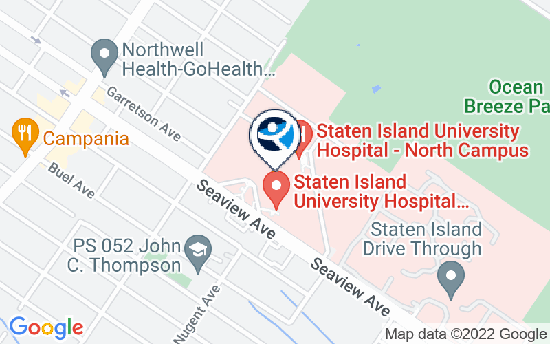 Staten Island University Hospital - Seaview Avenue Location and Directions