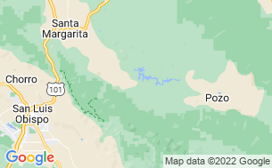 Map of Santa Margarita KOA