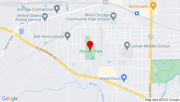 Google Map of 479 W. Forest Ave, West Chicago, IL 60185