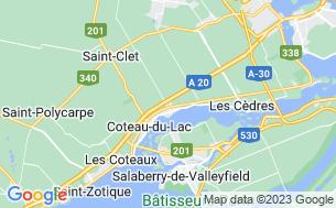 Map of Camping Saint-Emmanuel