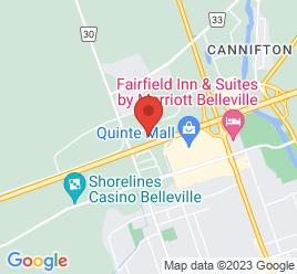 Google Map of 48+Millenium+Parkway%2CBelleville%2COntario+K8N+4Z5