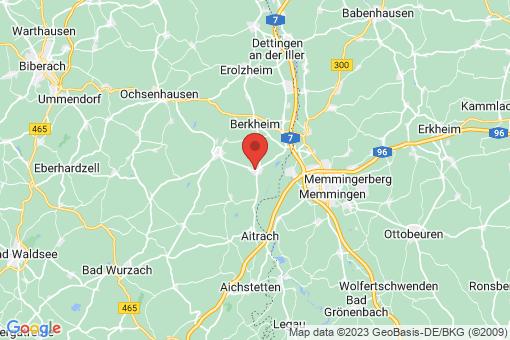 Karte Tannheim