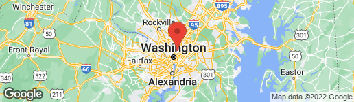 Map of 48 CRITTENDEN STREET NE WASHINGTON, DC 20011