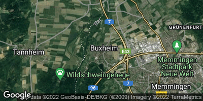 Google Map of Buxheim bei Memmingen