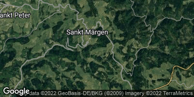 Google Map of Sankt Märgen