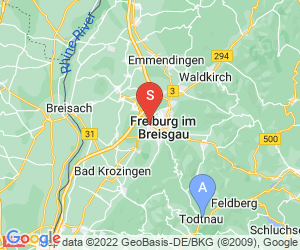 Karte für Dirtpark Freiburg